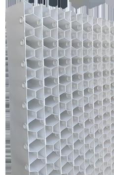 Fenêtres antibactériennes pour les tours de refroidissement